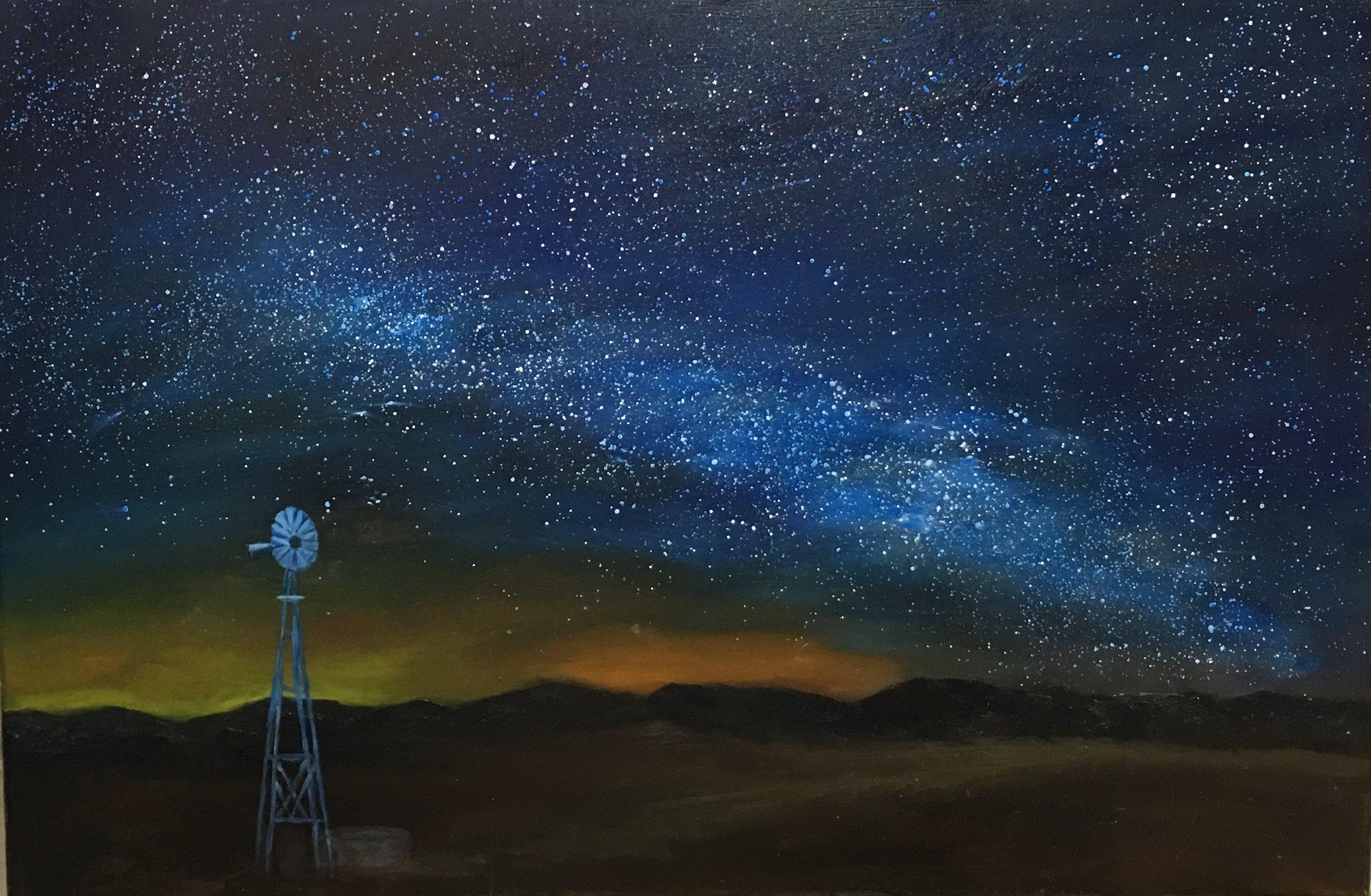 Marathon Nights  Oil on Canvas | 24x36 | 2018 |  SOLD