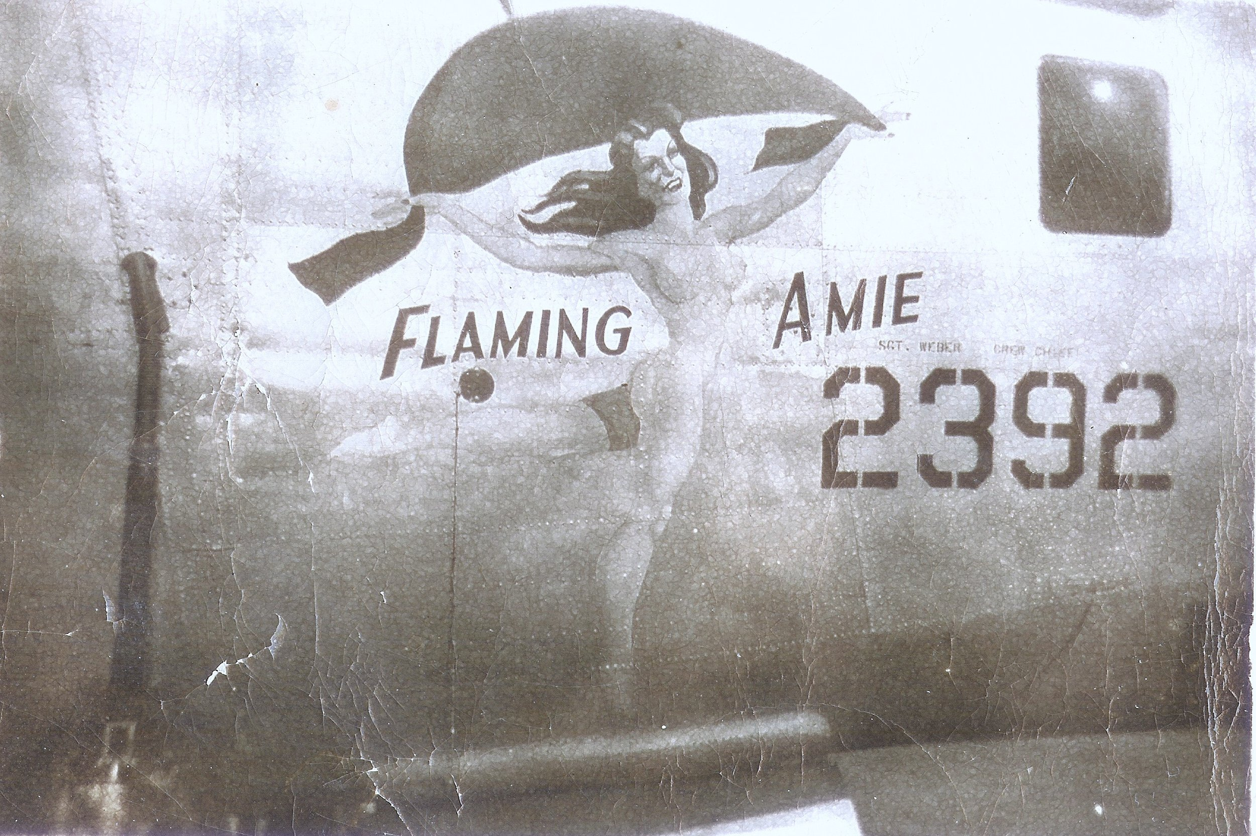 Source Photo of the nose art on my fathers WWII B-24 Bomber.  My father was a 2nd Lt. in the Army Air Corp and served as a bombardier on a B-24 bomber in WW II, in the Asian Theater bombing Japanese military installations on Formosa.