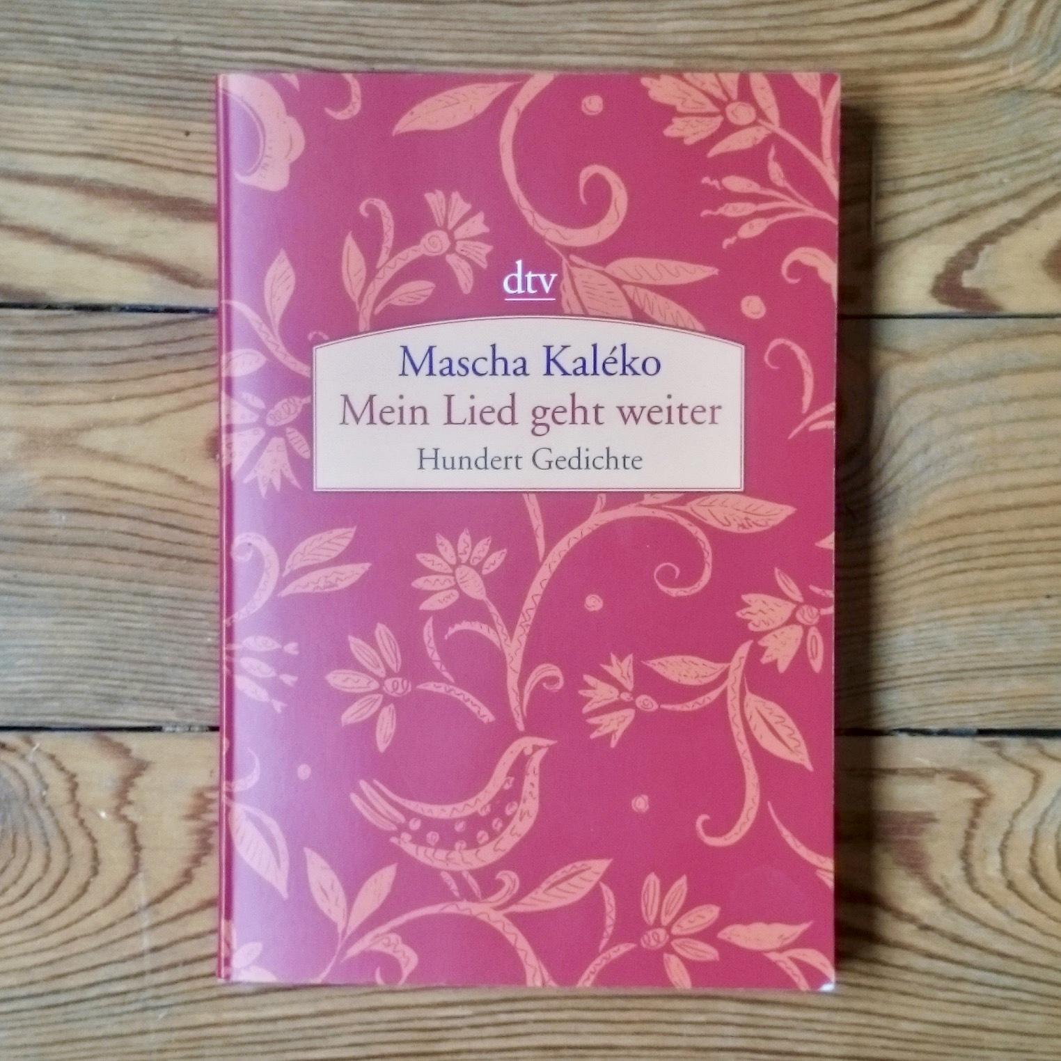 48 Mascha Kaléko Mein Lied Geht Weiter Präposition