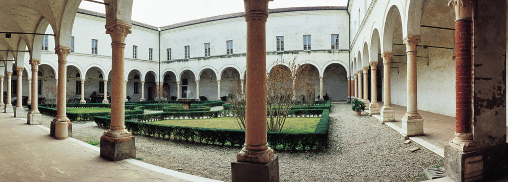 "The Benedictine monastery of San Benedetto Po in Mantova, where Benedetto Fontanini, the author of ""The Benefit of Christ,"" lived and studied."