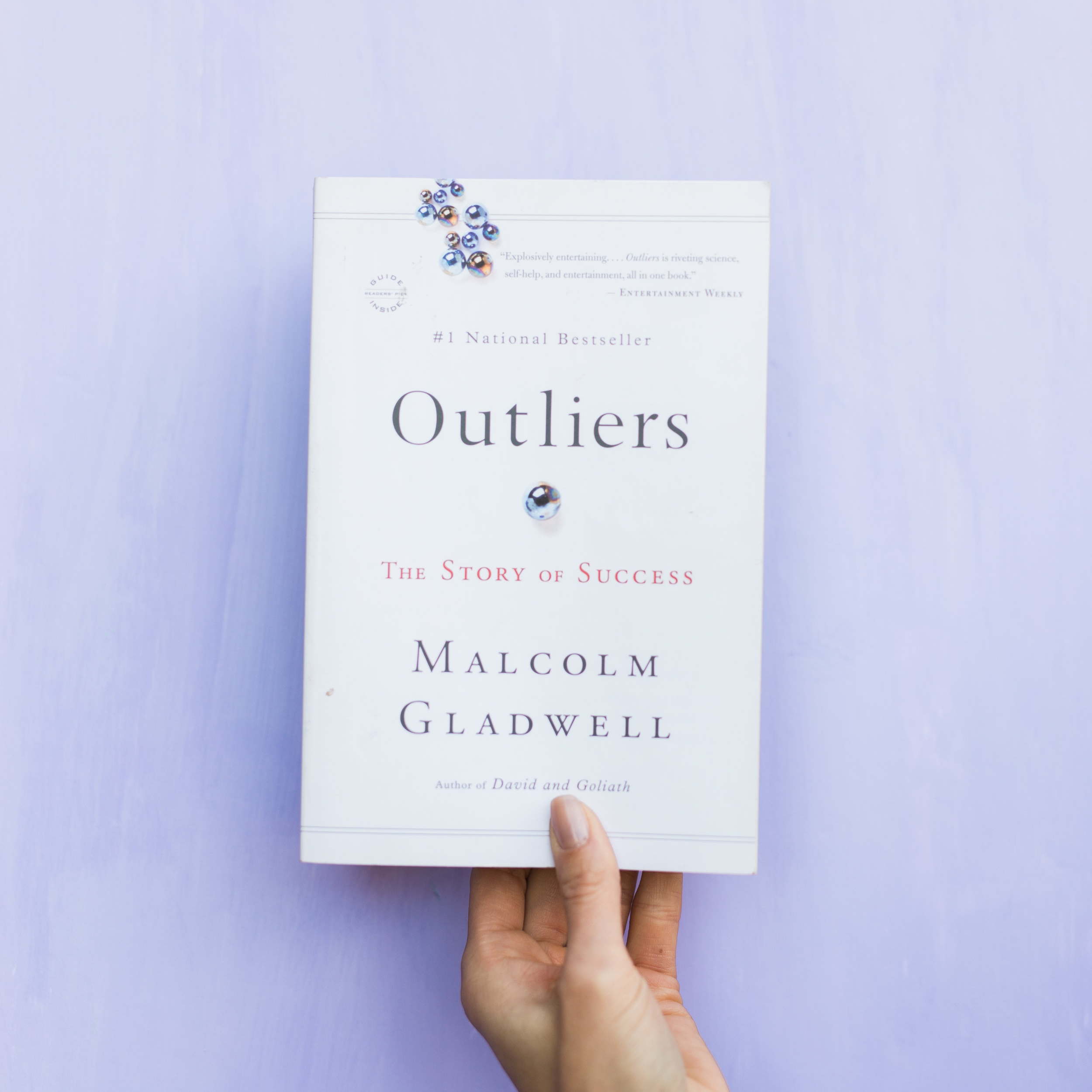 """this is not a Christian book but I love the challenge of aligning everything I read to a Christian world-view. Outliers was a fascinating outlet for me to do that. I learned why the best, brightest, and most successful are different. Turns out, it has much less to do with what they're like and more to do with where they came from. I loved exploring the facts the book presented, such as ones upbringing,and highlighting them against the backdrop of God's sovereignty iand greater purpose. If you like non-fiction and are intrigued by """"The World's Greatest..."""" then you won't be able to put this book down!"""