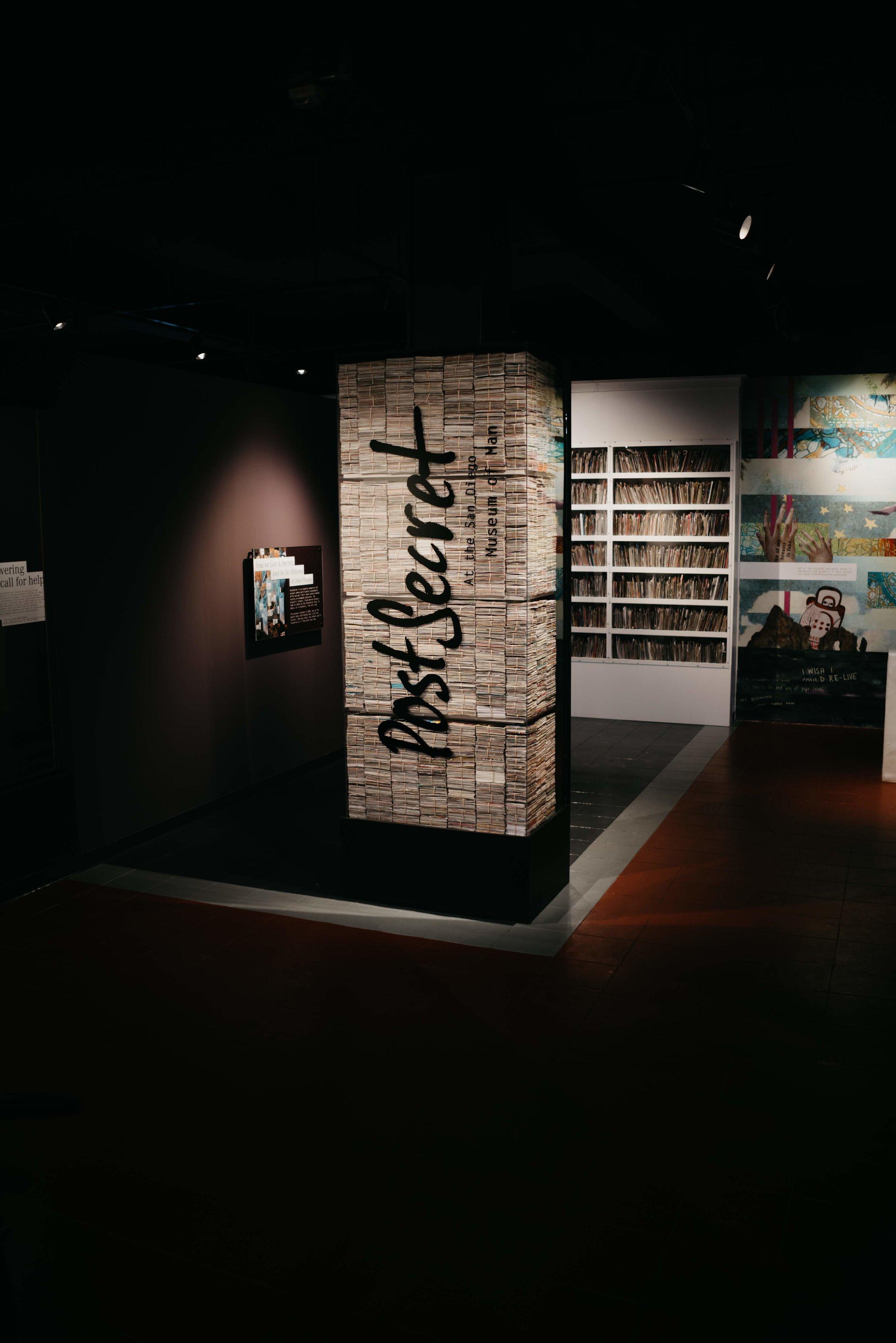 PostSecret Exhibit /// DOODIEBEARZ.com
