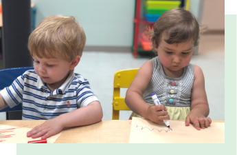 Our play-based preschool - is designed to nurture the heart, mind, and spirit of each child. Your child will grow with relevant learning experiences, interactive teaching, and independent discovery.