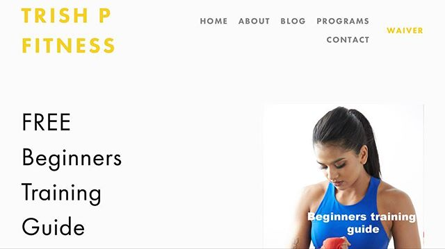 Head over to my website to get this FREE beginners training guide. (Body weight basics) I've spent a good amount of time writing this out because I really want to get as many people started as possible. It's absolutely FREE. Go get it now!!! Link in my bio . . . . #trishpfitness #beginnerstrainingguide #fitness #startyourfitnessjourney #letsdothis #headovertomywebsite #fitnessmotivation #hardworkpaysofff #fitnessjourney #startnow #fitfam #happytohelp #mypurpose #mymotivation #heretohelp #fitlife #sffitness #sanfrancisco #femalefitness #womenempowerment