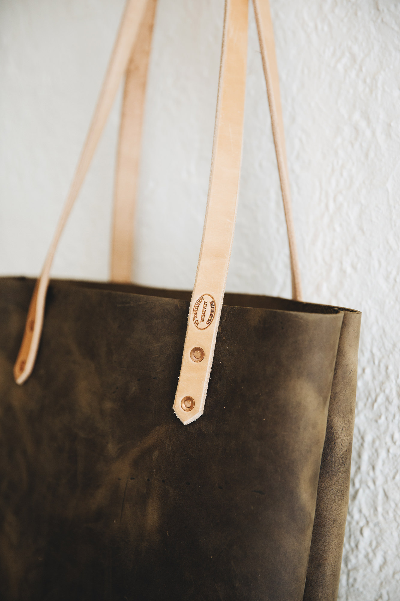 Ferry Tote in brown