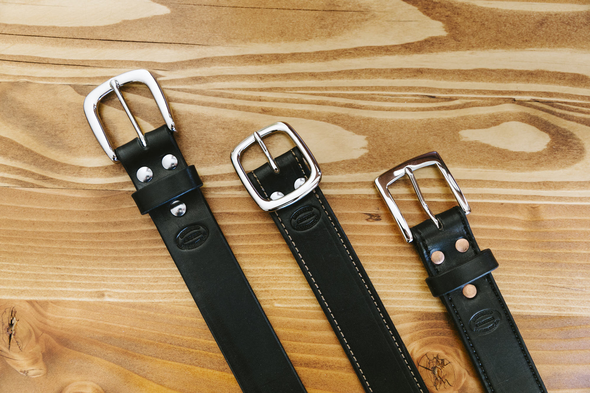 custom belts – made to order -