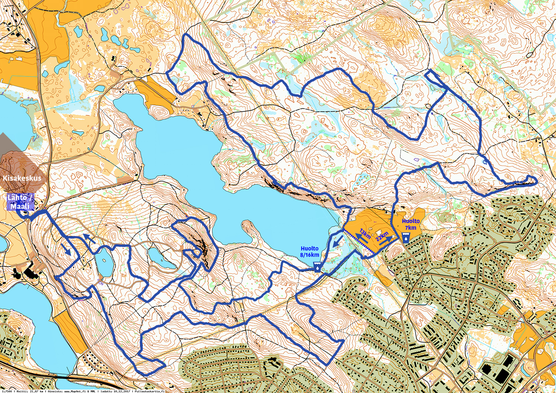 Reitti Aulanko Tower Trail