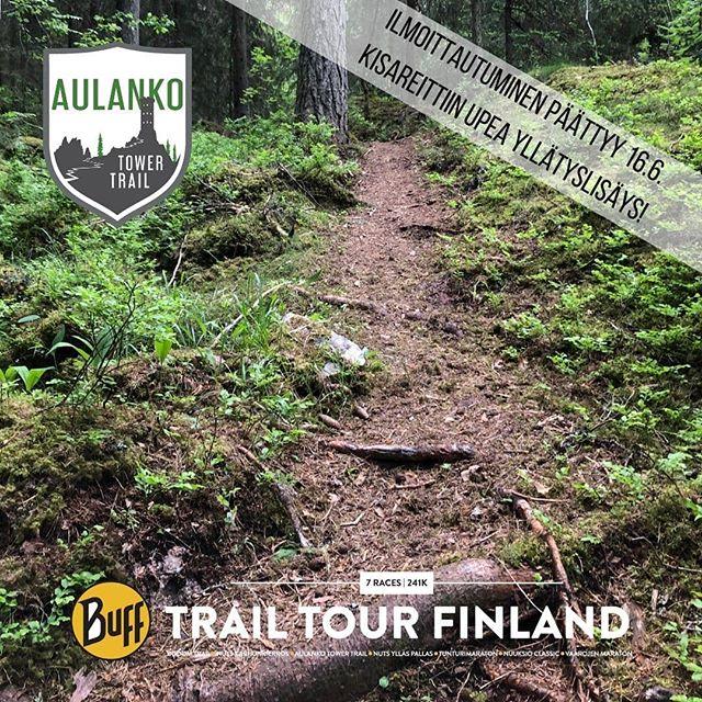 """Kiitos @metsahallitus_forststyrelsen , saatiin kisareittiin vielä viime hetkillä upea """"kilometrimäen"""" metsäpolku. Ilmoittautuminen päättyy sunnuntaina, mutta vielä ehtii!  Arvatkaapa muuten miksi sitä sanotaan """"kilometrimäeksi""""? ... Aivan 😉  #aulankotowertrail #bufftrailtourfinland #polkujuoksu #trailfi #trailrunningfinland #trailrunningfi #trailrunning #aulanko #aulankooutdoors #hämeenlinna #kohtamennään"""