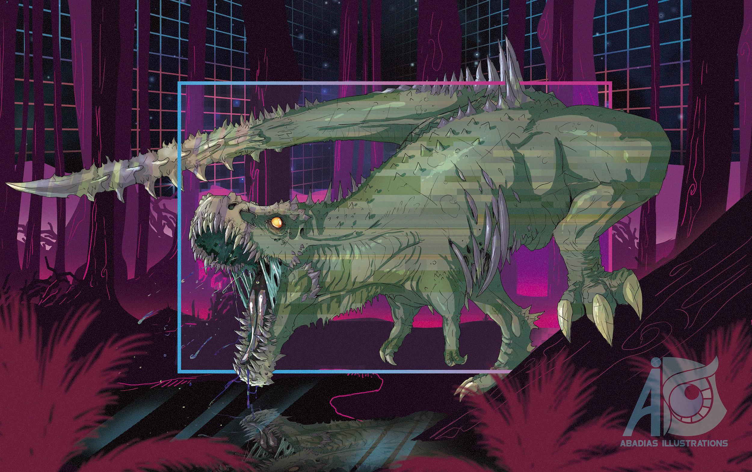 corrupted-t-rex