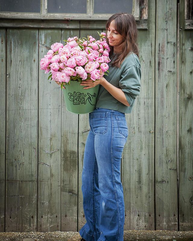 Soviel Arbeit die letzten Wochen und sowenig Zeit für einen ordentlichen post.  Vielleicht habt ihr ja fleißig meine Stories verfolgt und gesehen, dass wir jedes Sonnenfenster genutzt haben um die kleinen Pflanzen von unserer improvisierten Aufzuchtstation im Keller aufs Feld zu pflanzen.  Das Wetter hat den Pfingstrosen gut getan und ich freu mich sehr, wenn ich am Donnerstag wunderbare Abosträuße mit Pfingstrosen ausliefern kann. #flowerfarmer #slowflowers #blumenbund #peony #armloadofflowers #regionaleblumen