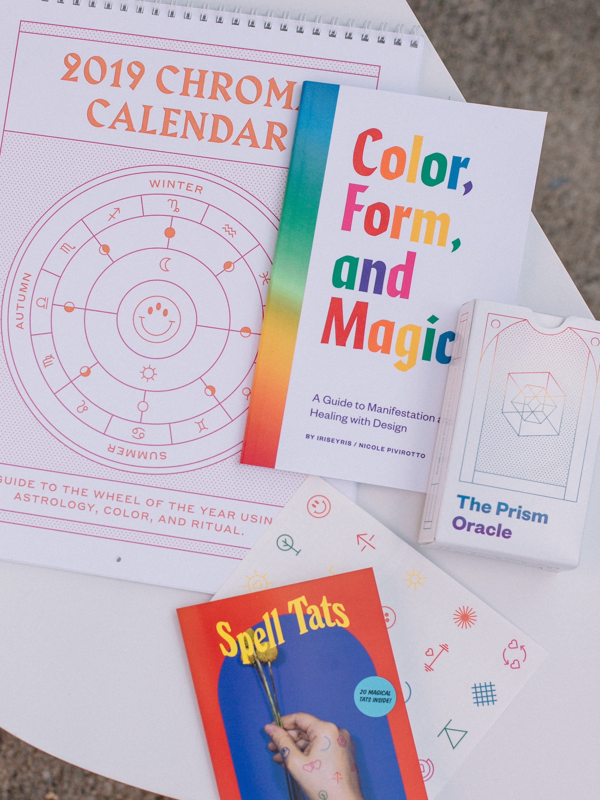 Color, Form & Magic Book by IrisEyris
