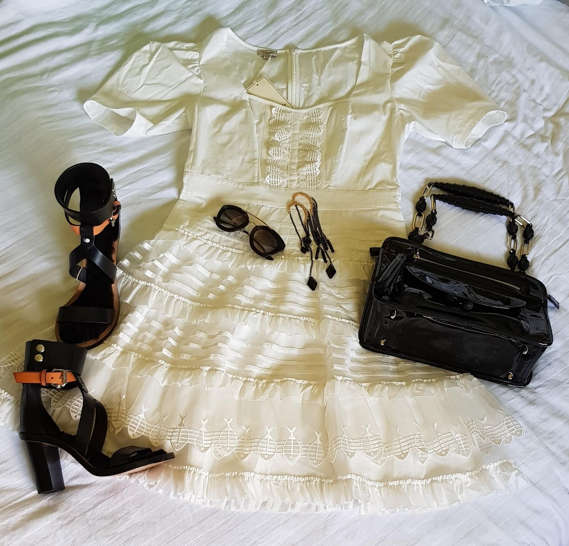 Edgy Monochromatic Look