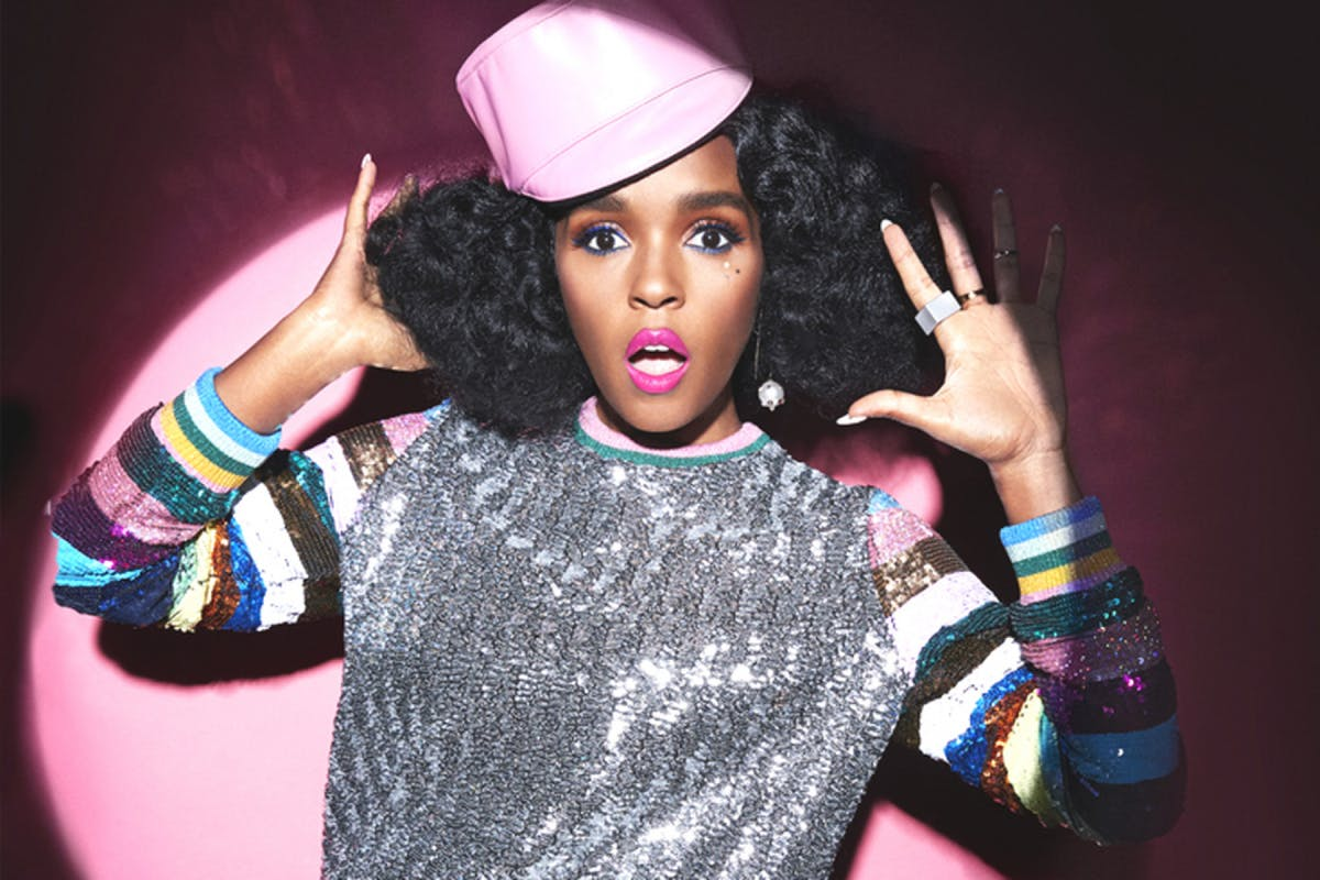 JANELLE MONAE AS FEATURED IN STYLIST