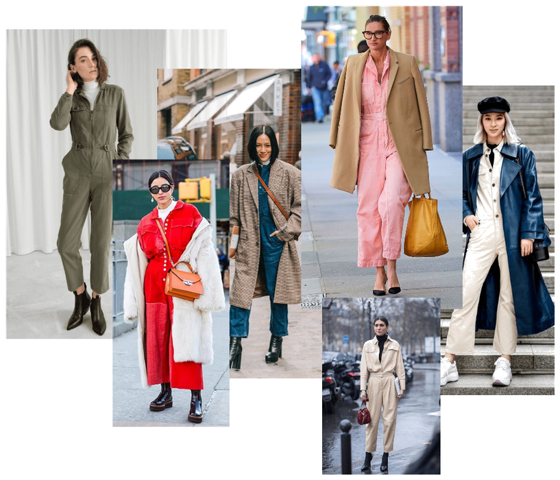 2. - As the weather gets colder you can layer it over a roll neck bodysuit or jumper. You can even throw on a blazer or coat over it. Add a pair of boots and you're good to go.