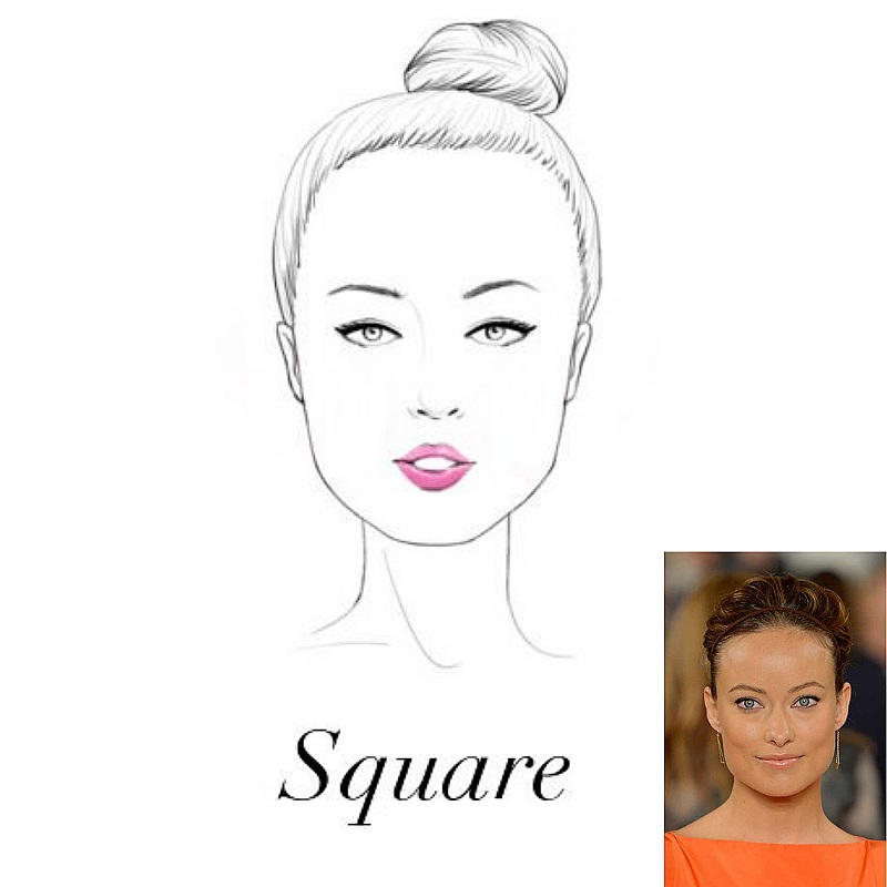 - To soften a square jawline and broad forehead it is best to opt for rounded frames that are wider than the widest part of the face and have a high bridge.
