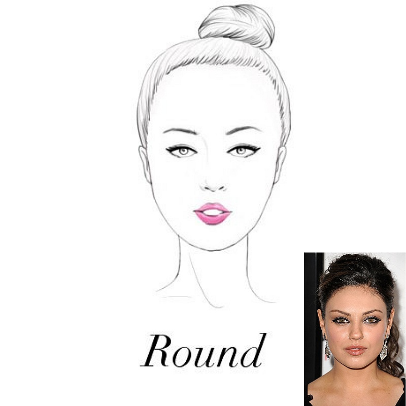 - Angular frames help to create contrast to wide cheekbones, forehead and jaw, as it expands your face vertically so it appears longer.