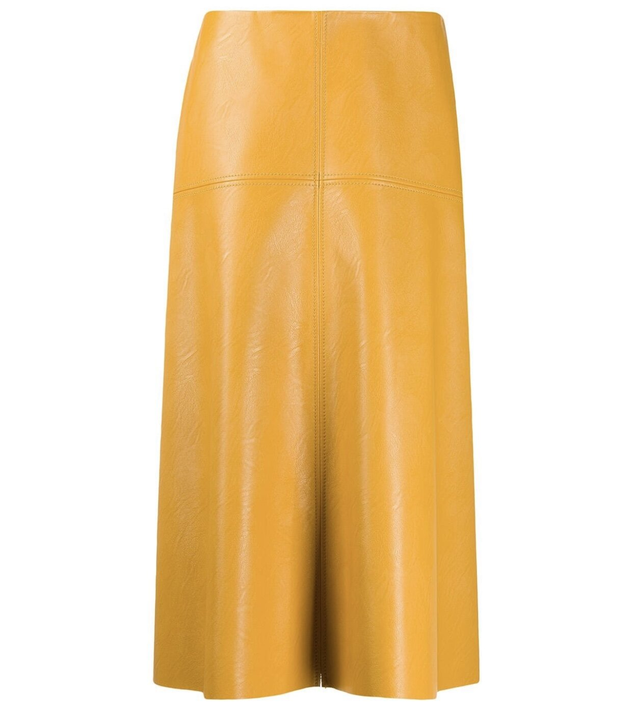 STELLA McCARTNEY - FAUX LEATHER SKIRT