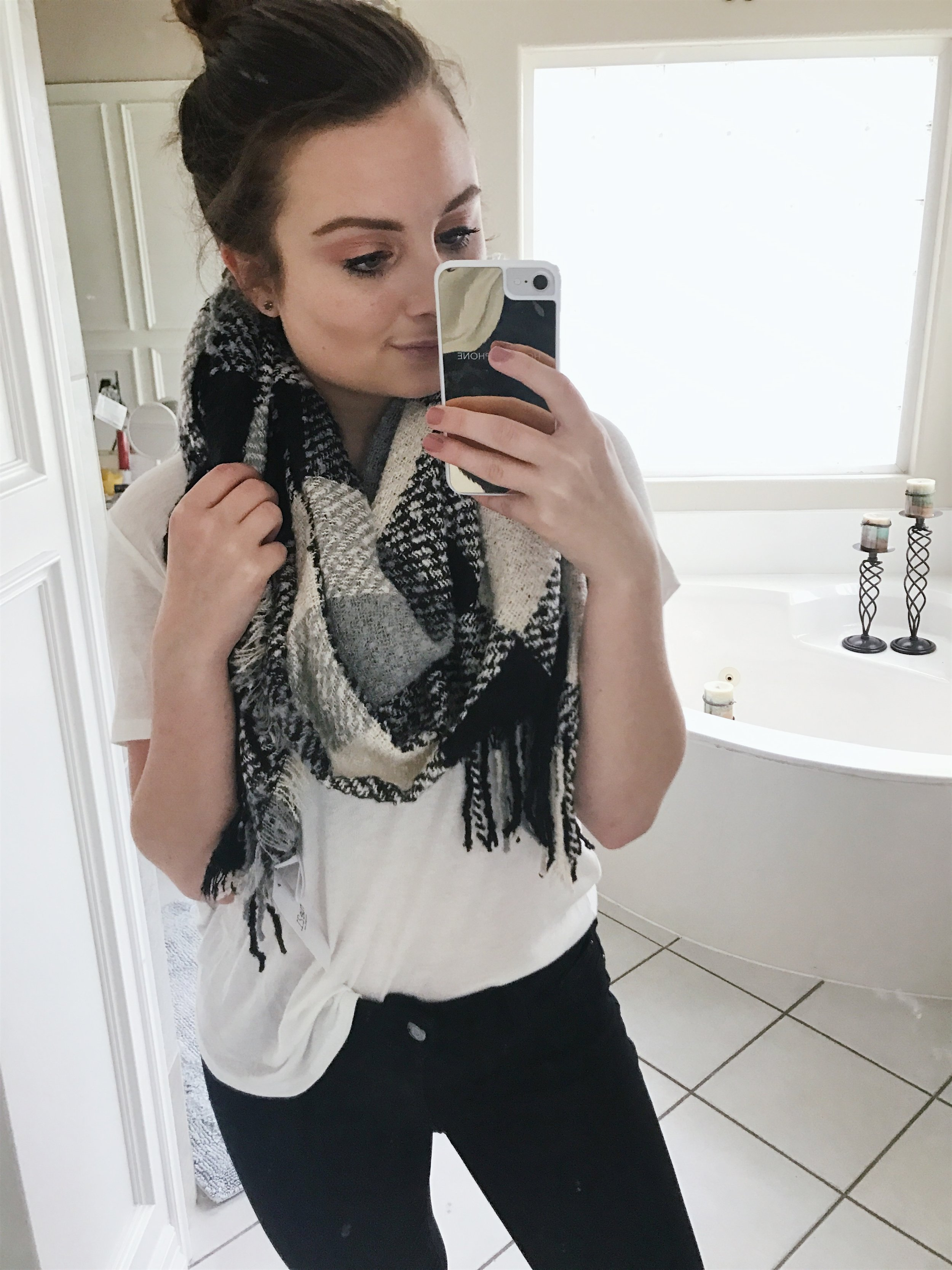 scarf here,  I paid $2.50