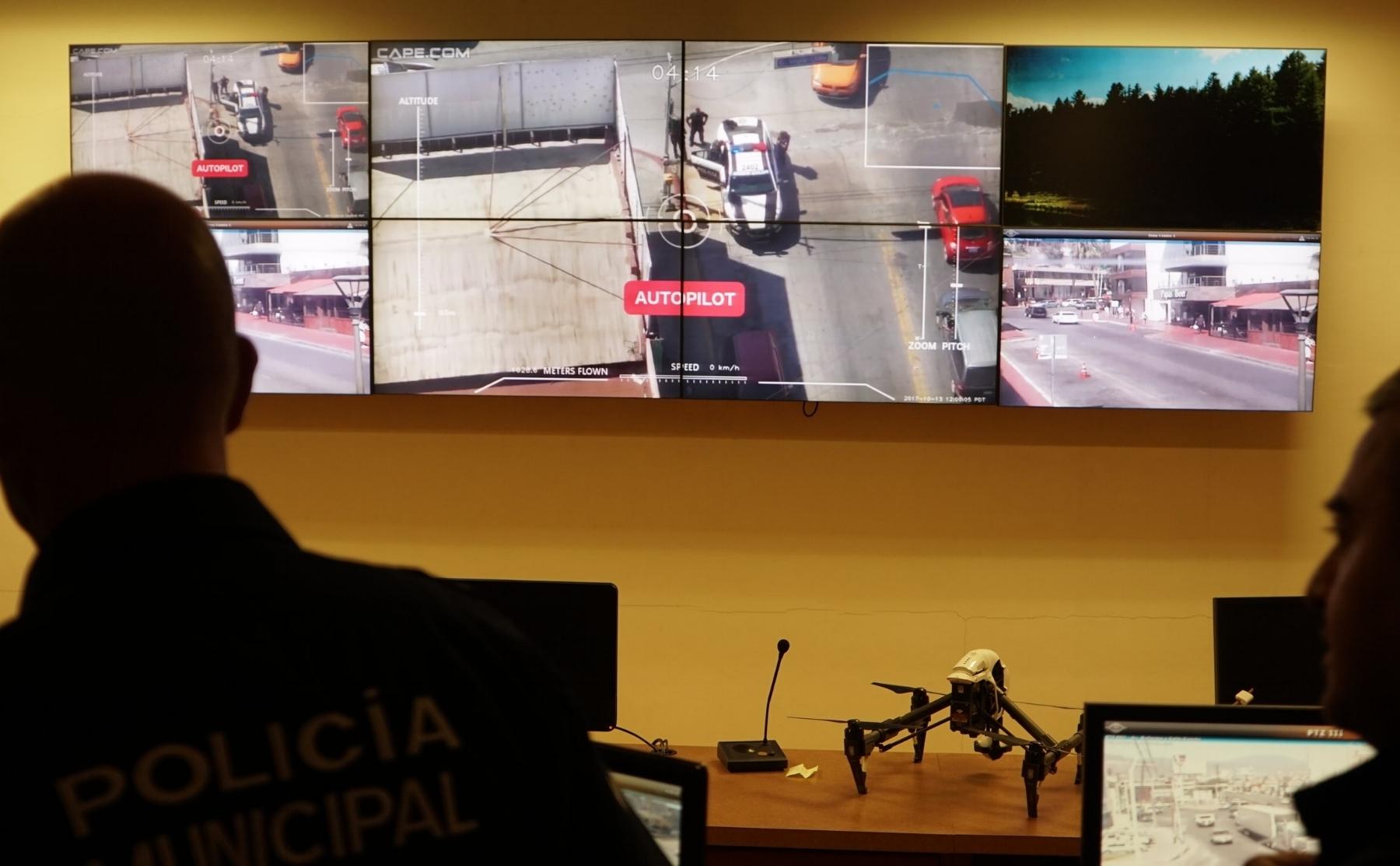 Arrest Videowall.JPG