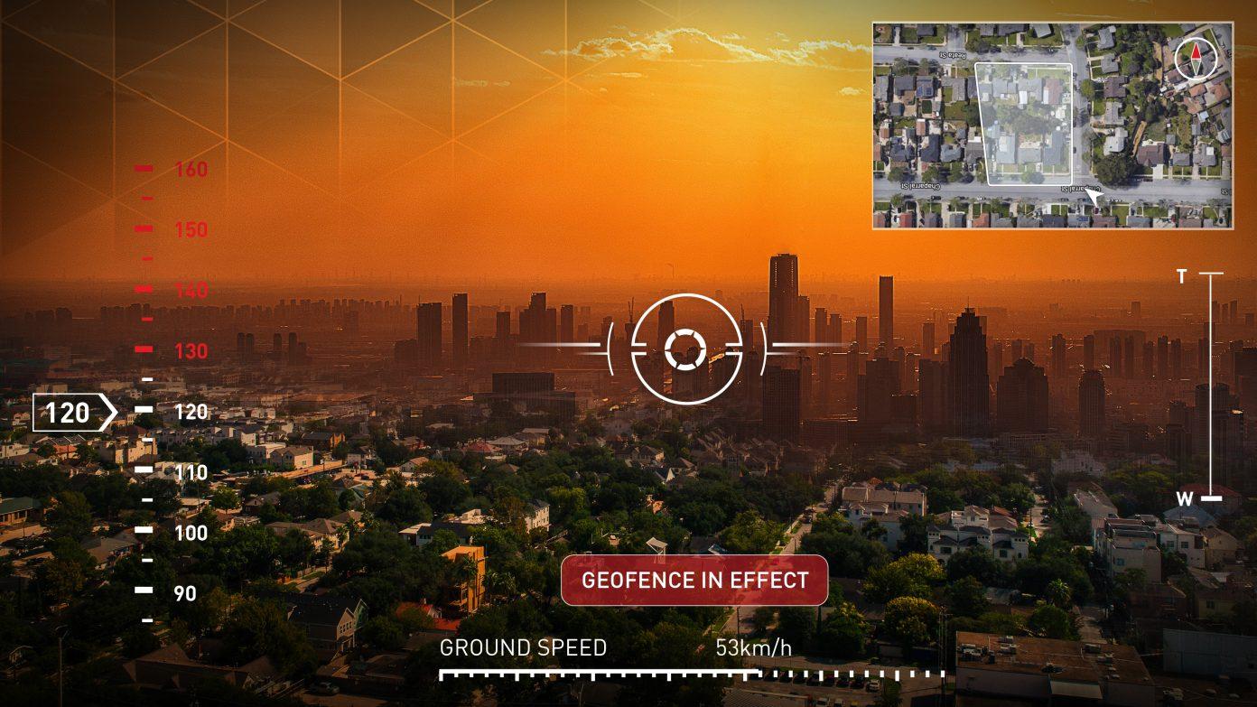 Screenshot from the Cape Aerial Telepresence platform