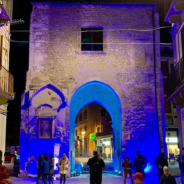 A very nice event last night in #sulmona #sulmonasiilluminaperfeateggiaresimome
