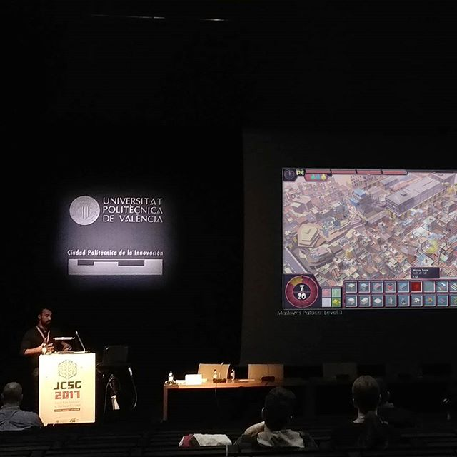 Just wrapped up presenting #maslowspalace at the Joint Conference on Serious Games Valencia. Such great discussions to be had! Thanks for having us. . #architecture #travel #design #urbandesign #gaming #participatorydesign#unity #madewithunity #coding #jcsg #unity3d #gamedev #gamedesign #indiedev #game