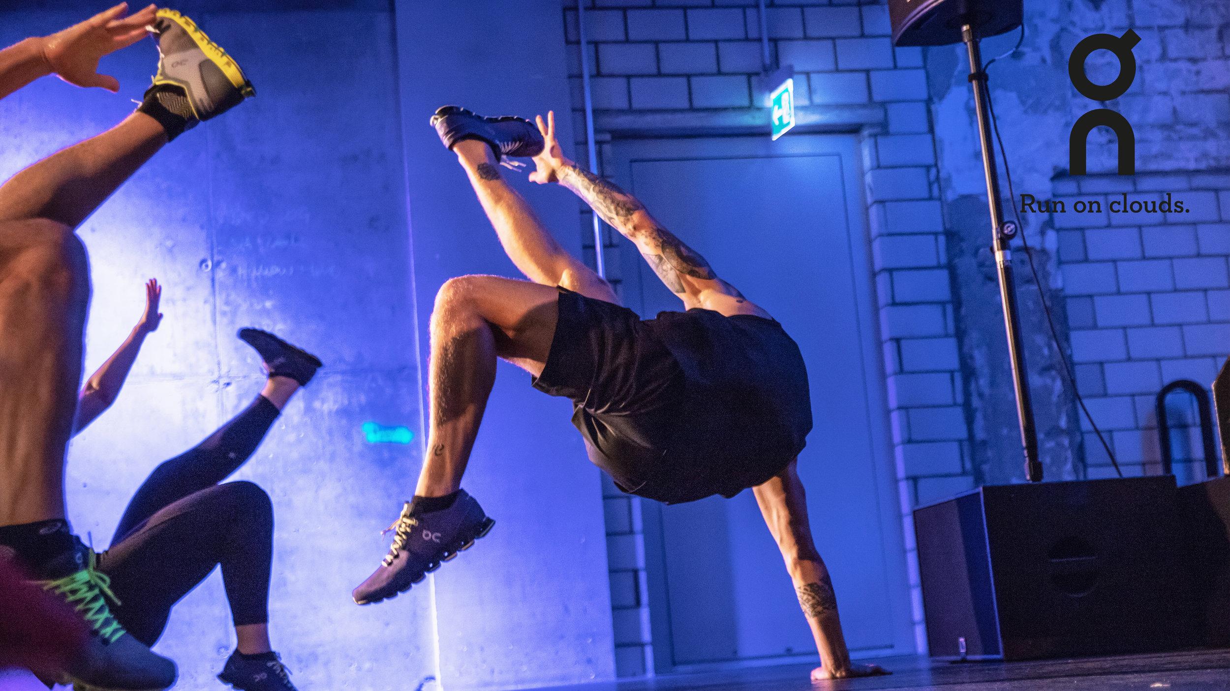 On X Balboa – Live Music Workout