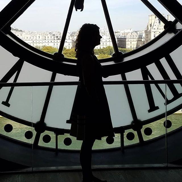 The famous clock Musée d'Orsay