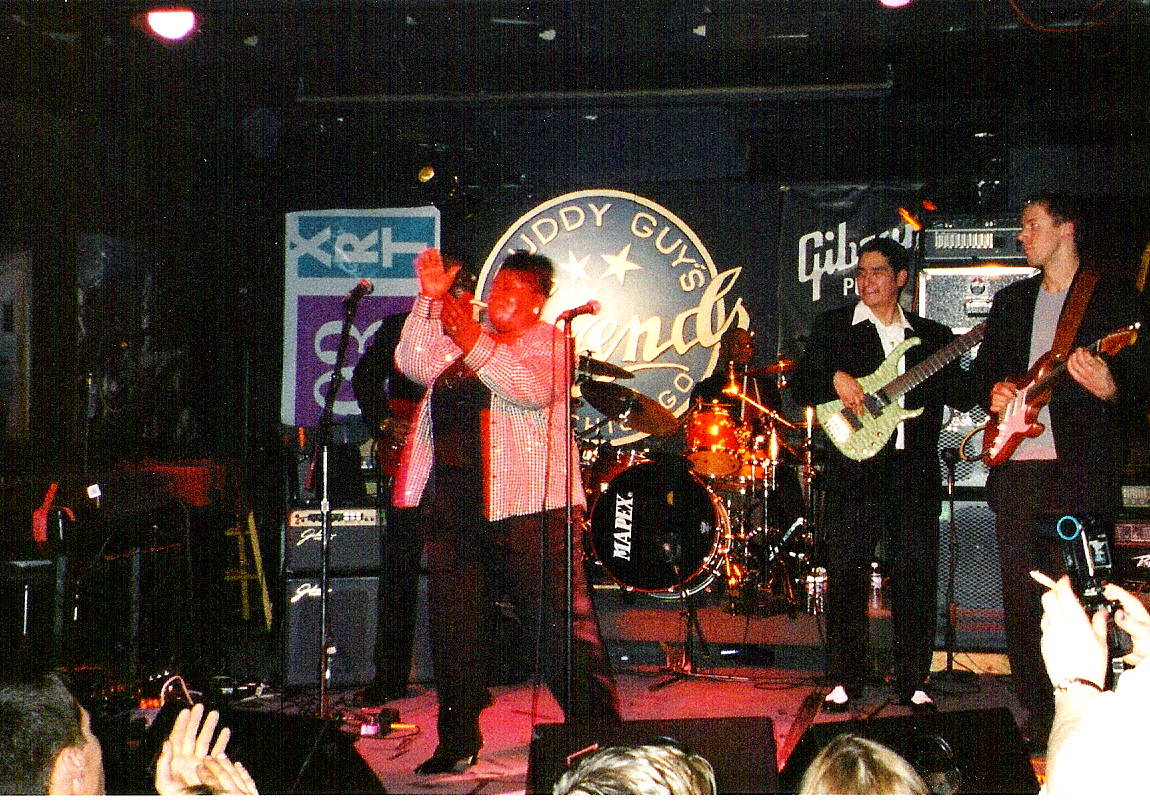 Buddy Guy's Legends, Chicago - one of my gigs with Sharrie Williams during my first trip to the Great Lake Area, 2002