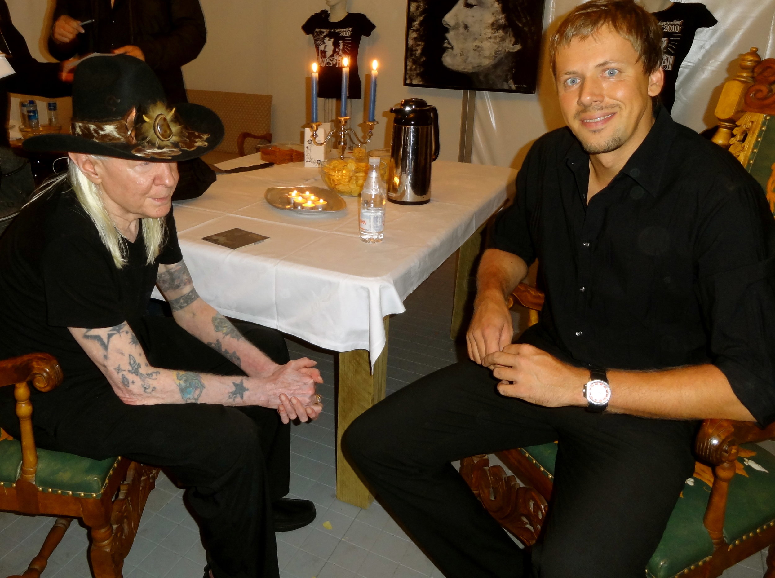 Trondheim, - Blues in Hell Festival 2011. We had the great honor to share the bill with the late Johnny Winter.