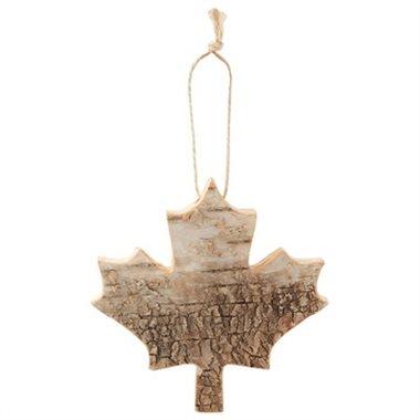 Indigo - Birch Bark Maple Leaf Ornament.jpg