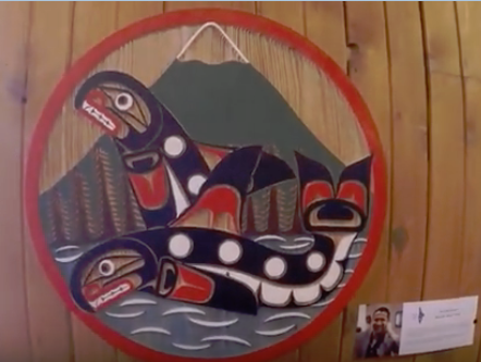 First NationsArt Feature - We are very proud to have decorated the lodge with a lot of new First Nations Art pieces provided by local artists Jesse Gillette and Billy Cook! Look for new carvings around the lodge. Note that they are available to commission individual pieces for our guests too and have provided some beautiful jewelry for our gift shop!