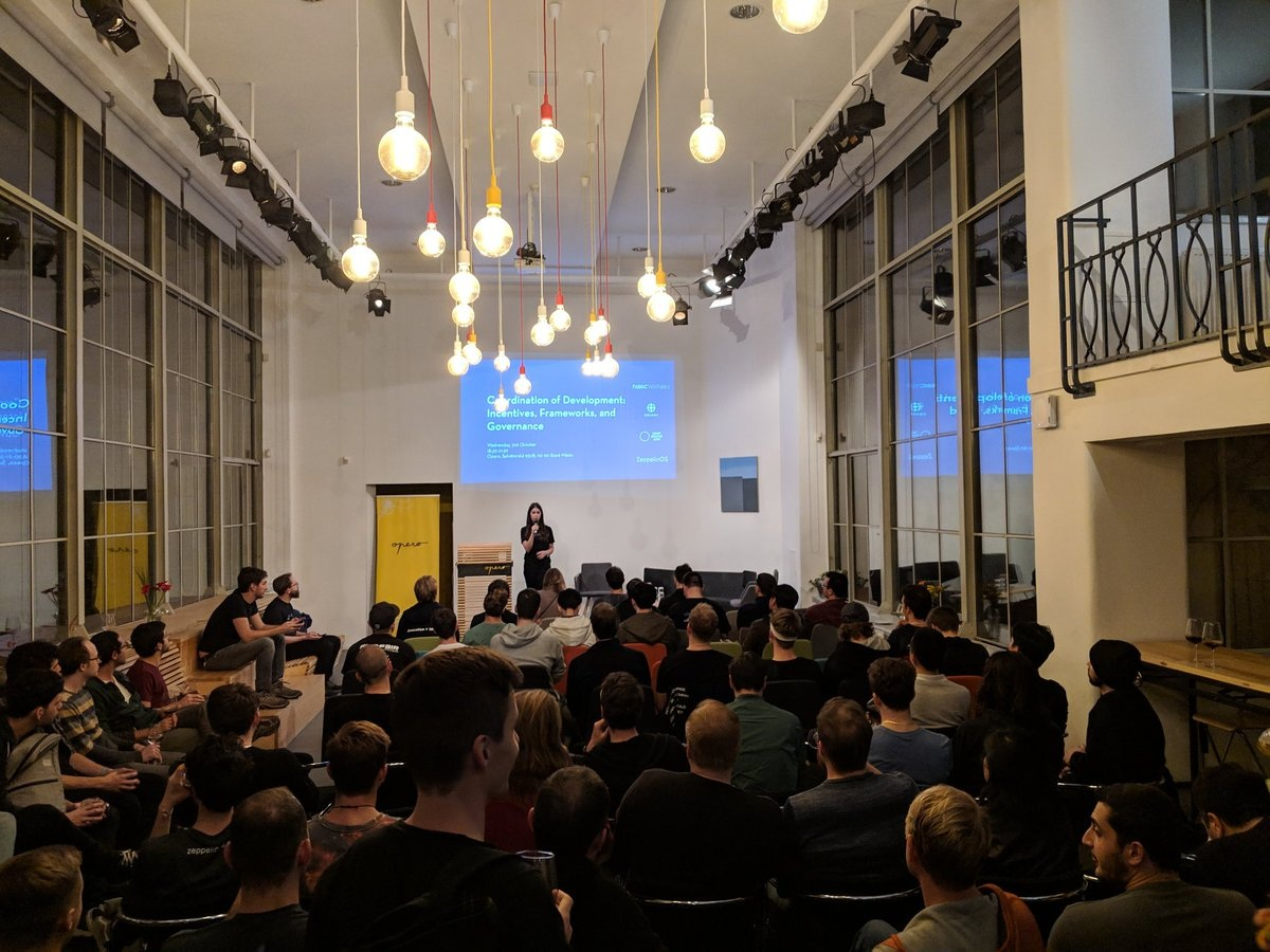 Coordination of Development meetup - - Prague - Diving into coordination of work on decentralised networks with Zeppelin, Colony, and Oscoin