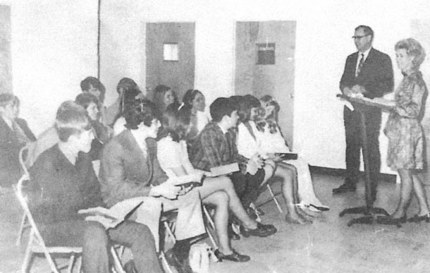 Sunday School in the 1970's