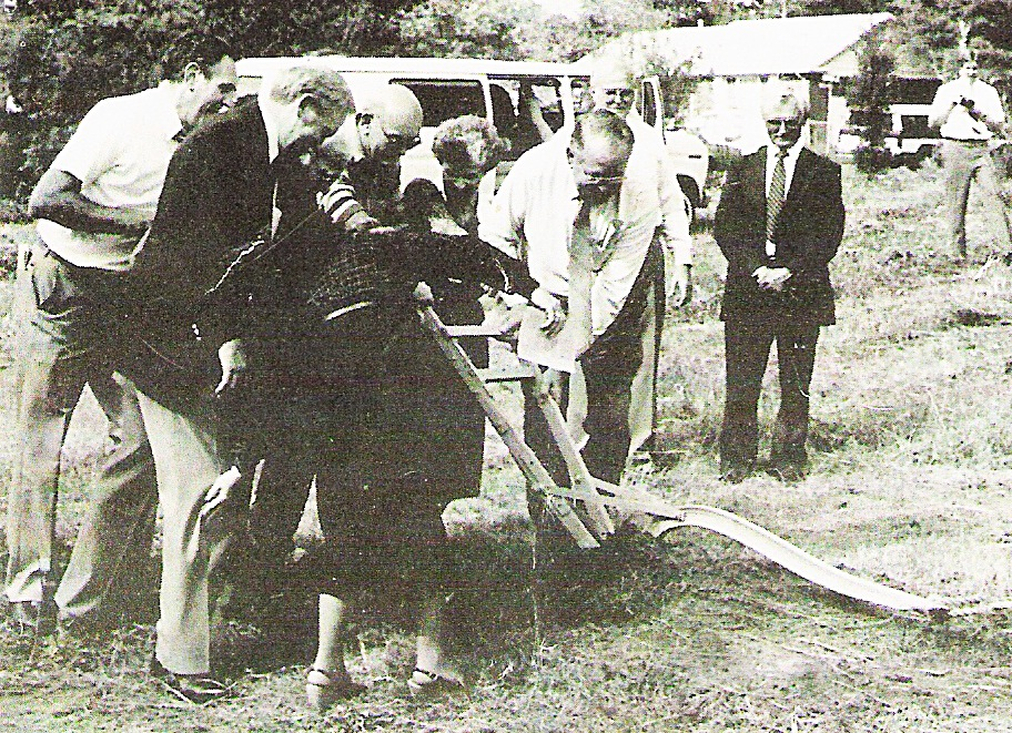Ground Breaking Service November 1986