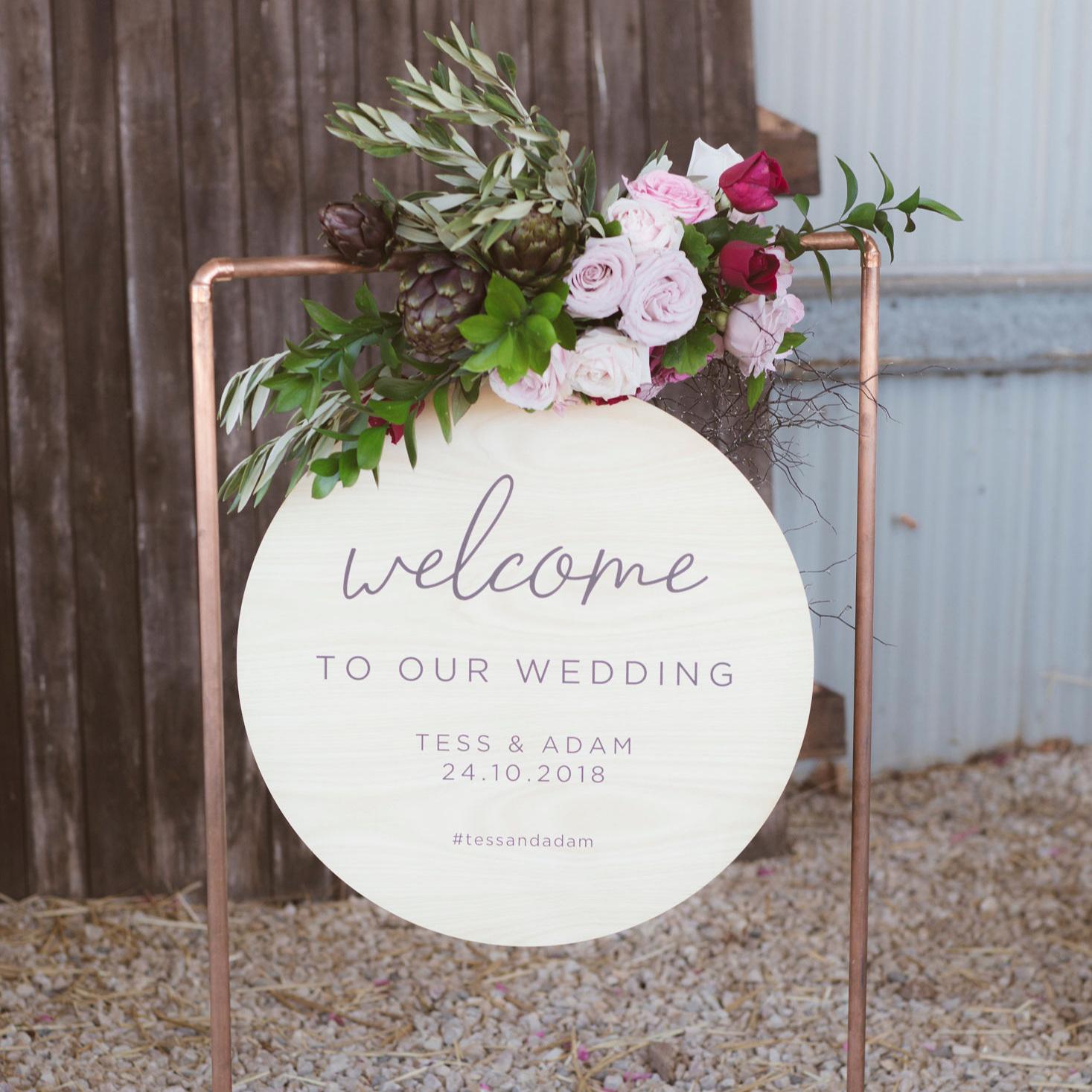 weddingSIGNAGE -