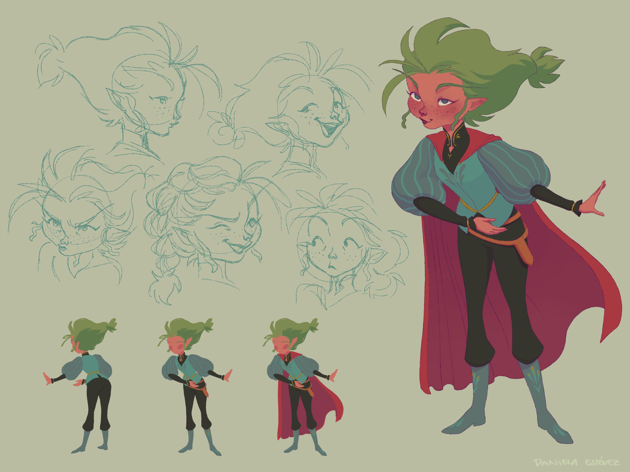 Character Design -