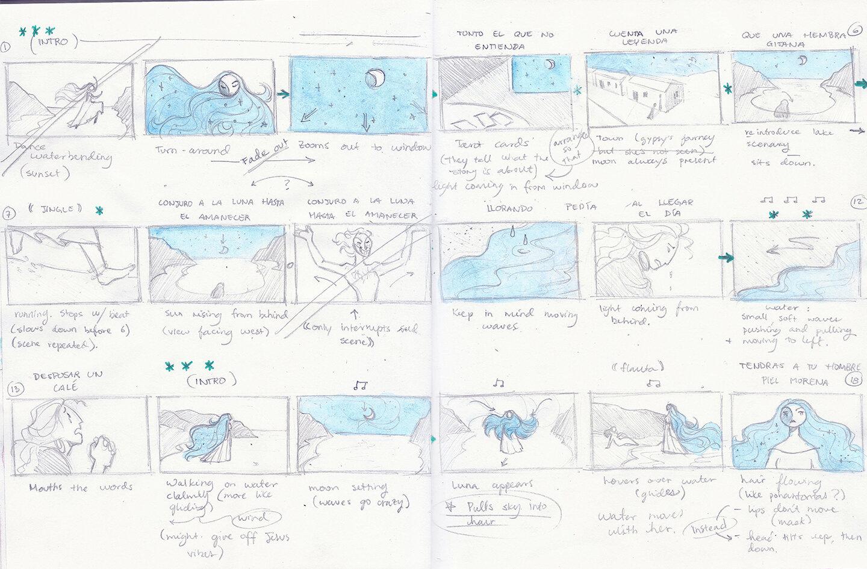 Storyboards & Animation -