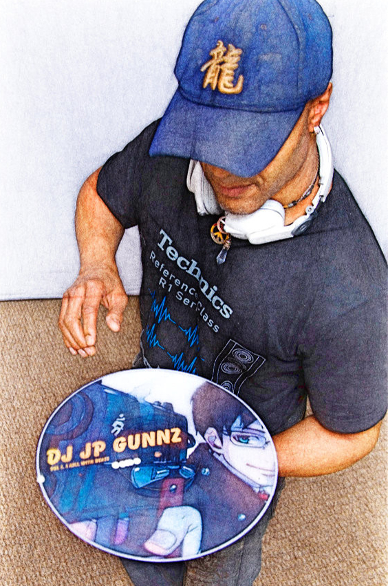 Cartoon DJ Johnny with Wax.jpg