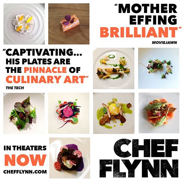 @diningwithflynn's boundless culinary creativity makes for a mouthwatering cinematic experience. #ChefFlynnFilm is now playing in select cities, tickets at link in bio!