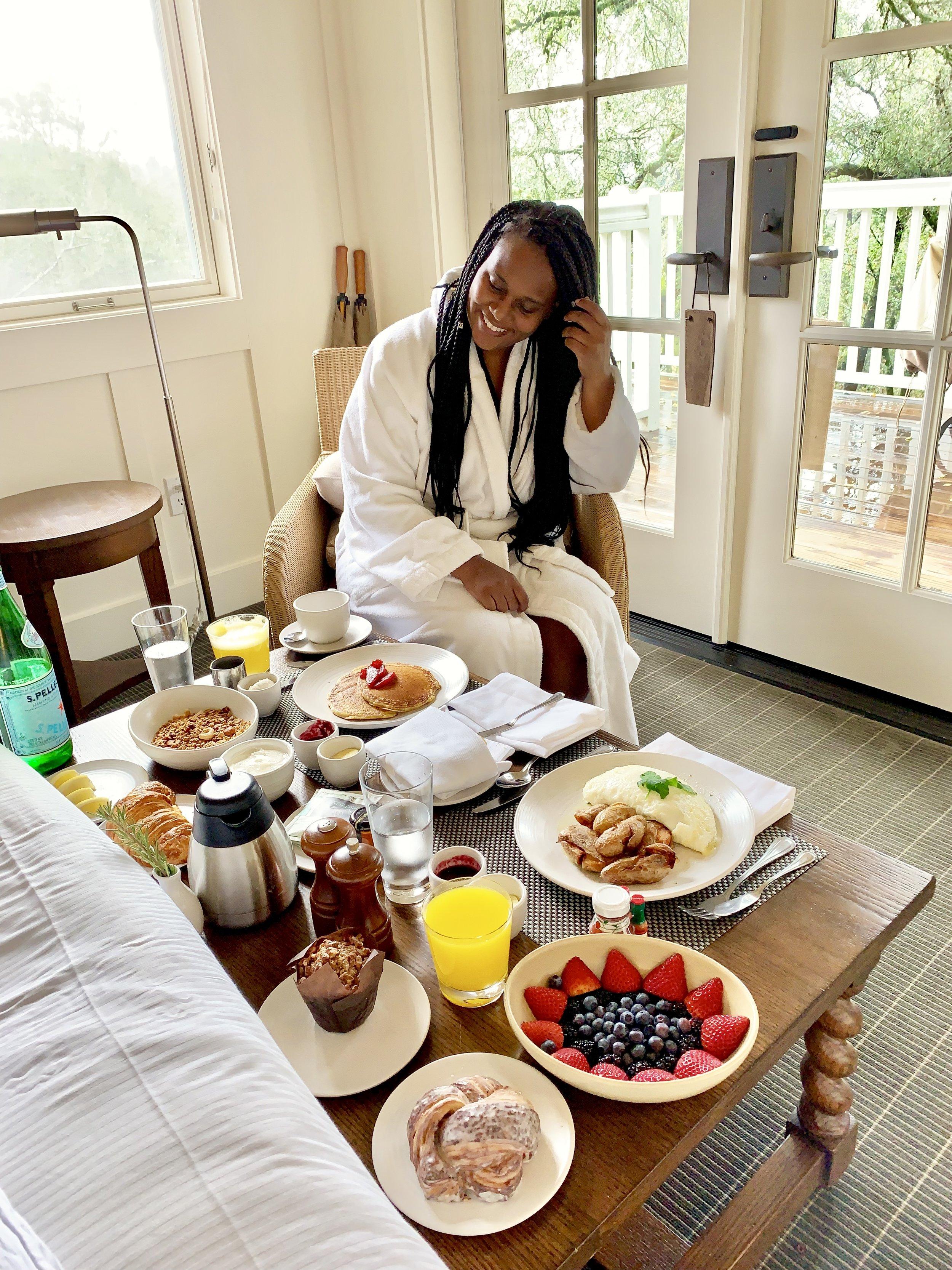 Meadowood Breakfast