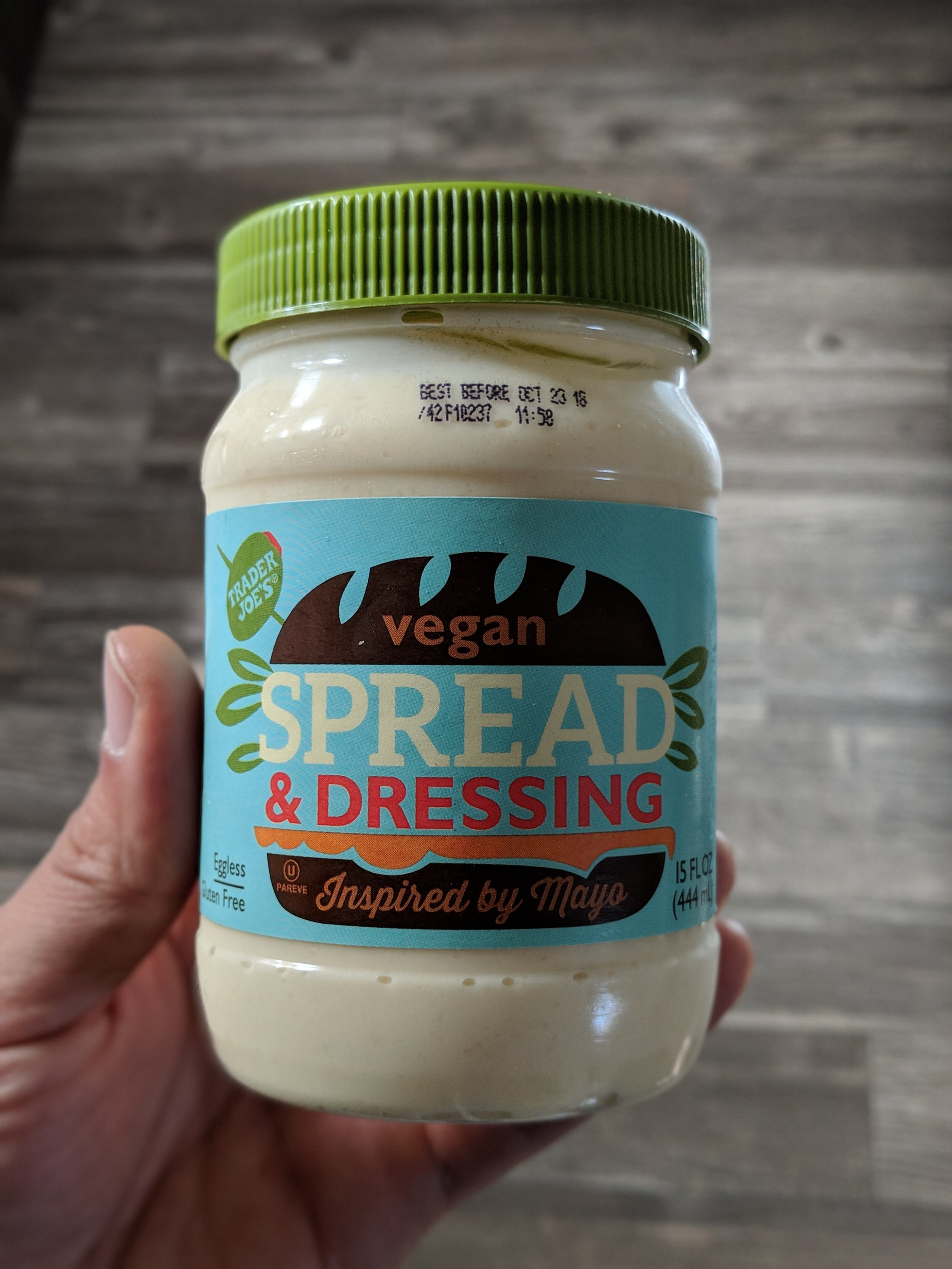 Vegan Mayo - Used to make sauces and aioli. Mix it with Smoked Paprika to add extra flavor to tacos and burritos.