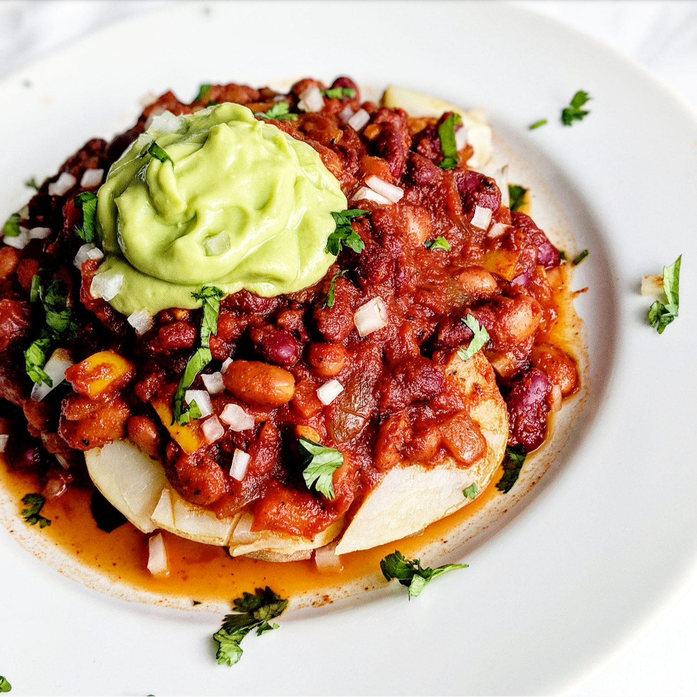 Simple Vegan Chili -