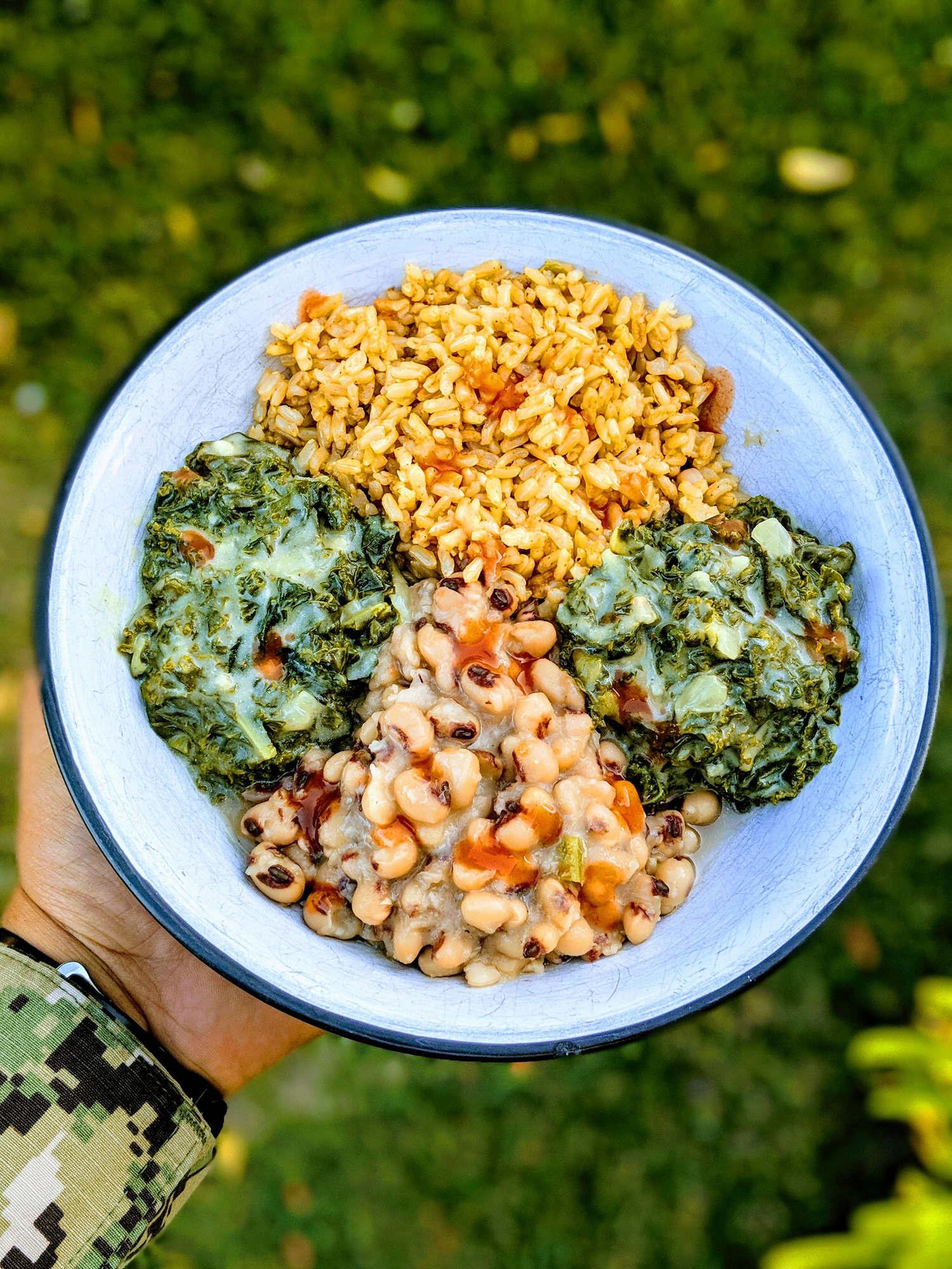 Savory Creamed Kale -