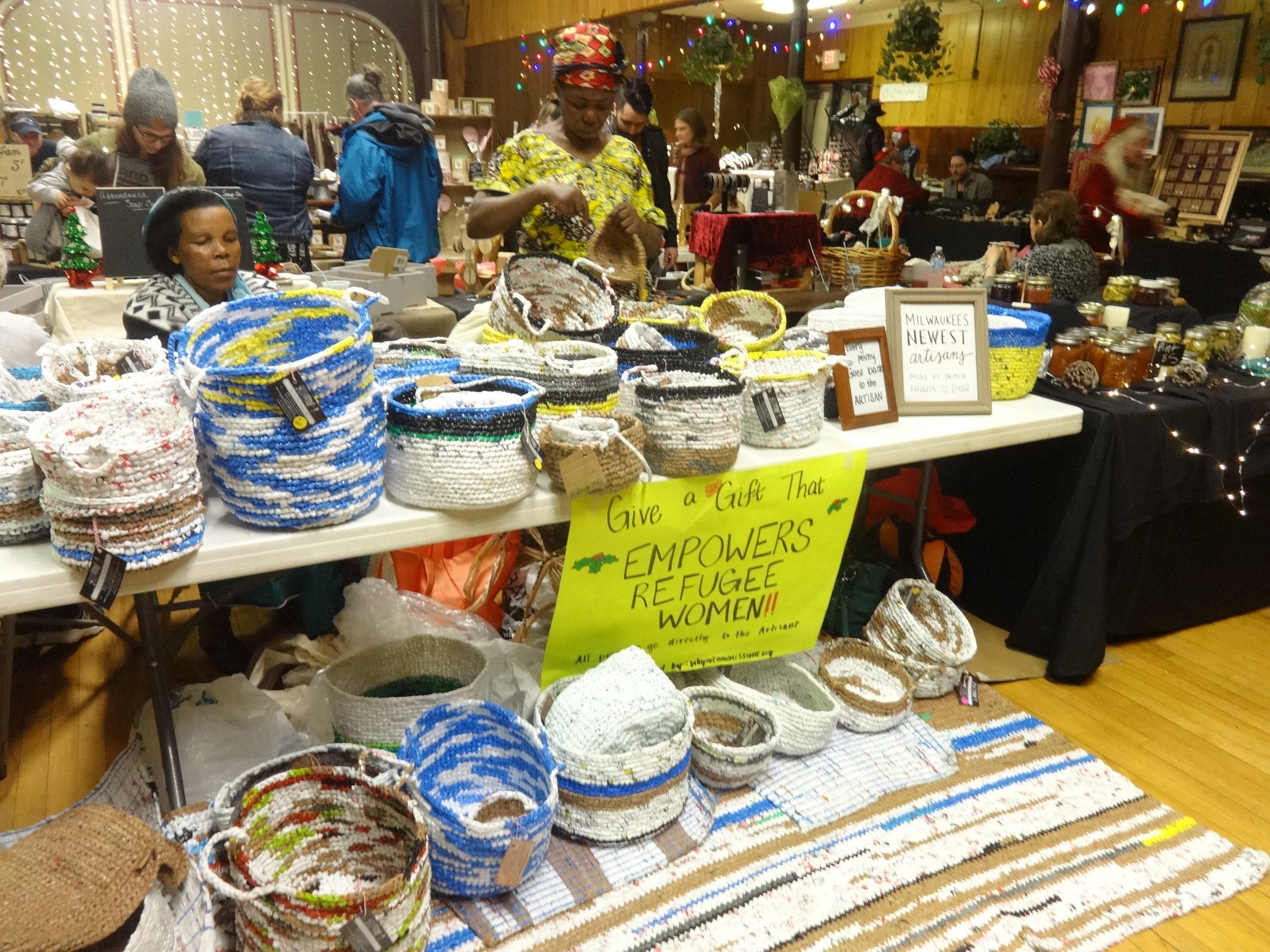 Riverwest Random Recycled Arts and Gifts Show
