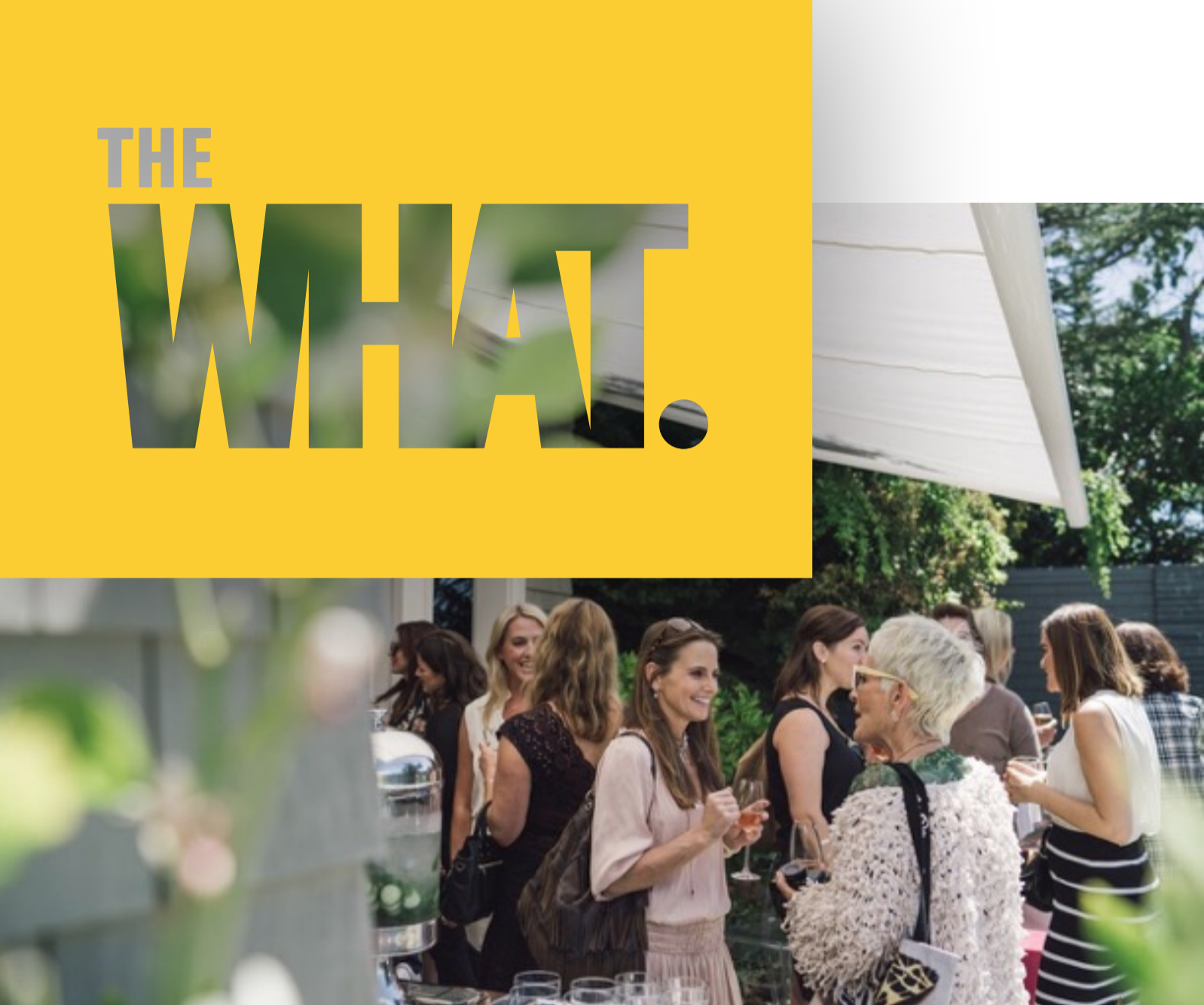 The What. Live! - I am so looking forward to joining the incredible all-female team at THE WHAT. SUMMIT, a place for smart Perennial women to develop real friendships over real talk (and some really great wine). I will be speaking about THE FEMALE BRAIN and joining an incredible line up which will include many amazing women like Debra Messing (Will & Grace), Tina Sharkey (CEO of Brandless), Caterina Fake (Founder of Flickr), Vendela Vida (novelist), my dear friend Kaja Perina (Editor in chief of Psychology Today), and entrepreneurs in diverse fields.When: October 5, 2018 at 9amWhere: SF Golden Gate Club, San FranciscoRSVP and read more about the event here.
