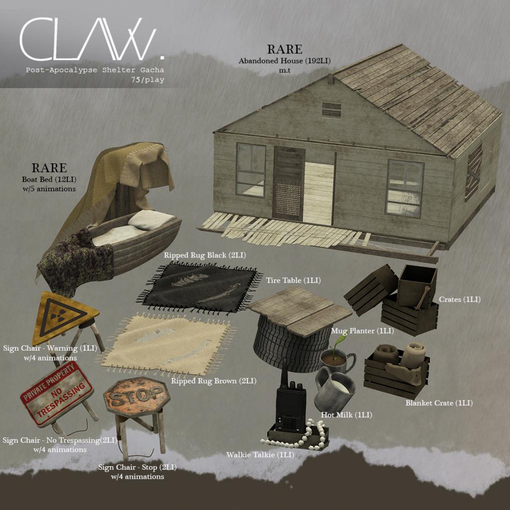 C-L-A-Vv.-Post-Apocalypse-Shelter-Gacha-Sheet.png