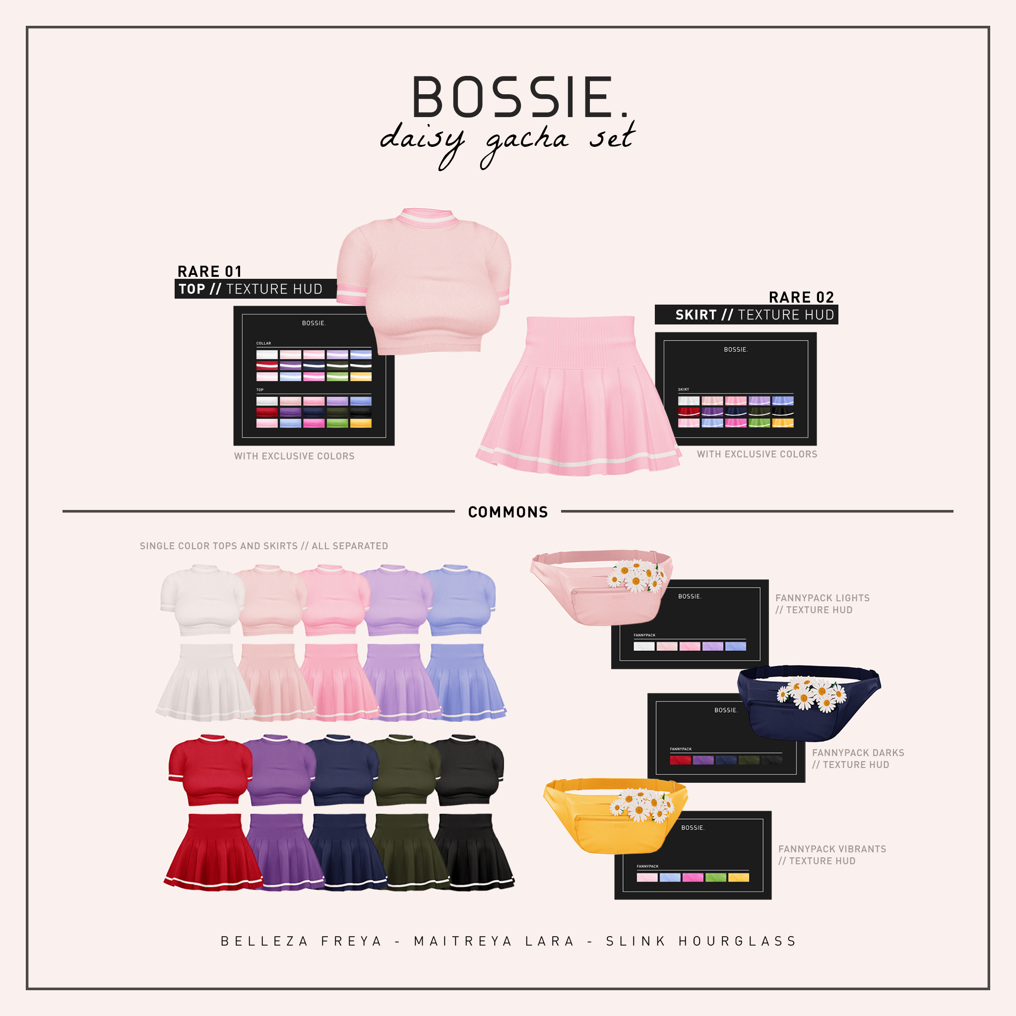 Bossie daisy gacha key.png