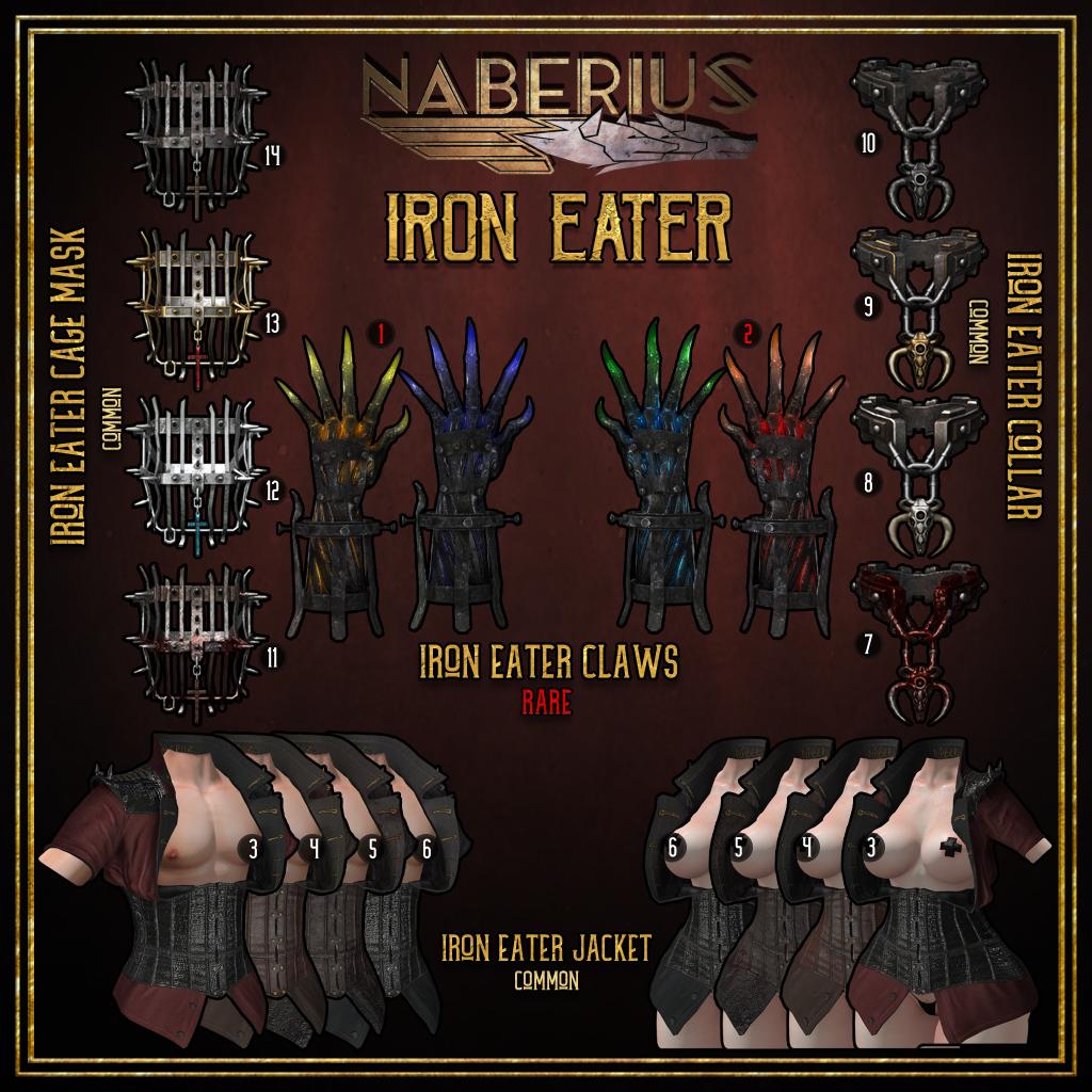Naberius - Iron Eater Gacha Key.png