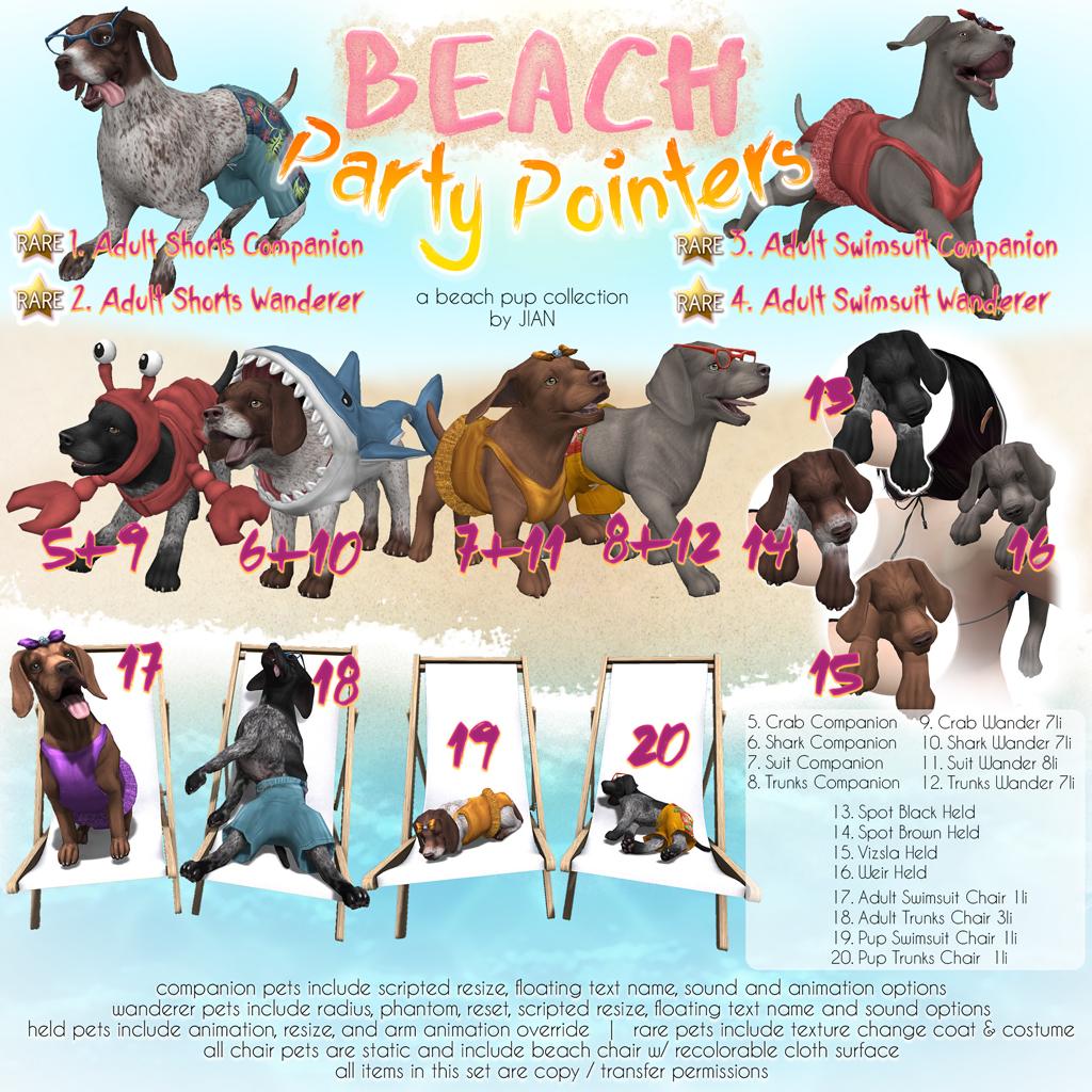 JIAN Beach Party Pointers Gacha Key.png